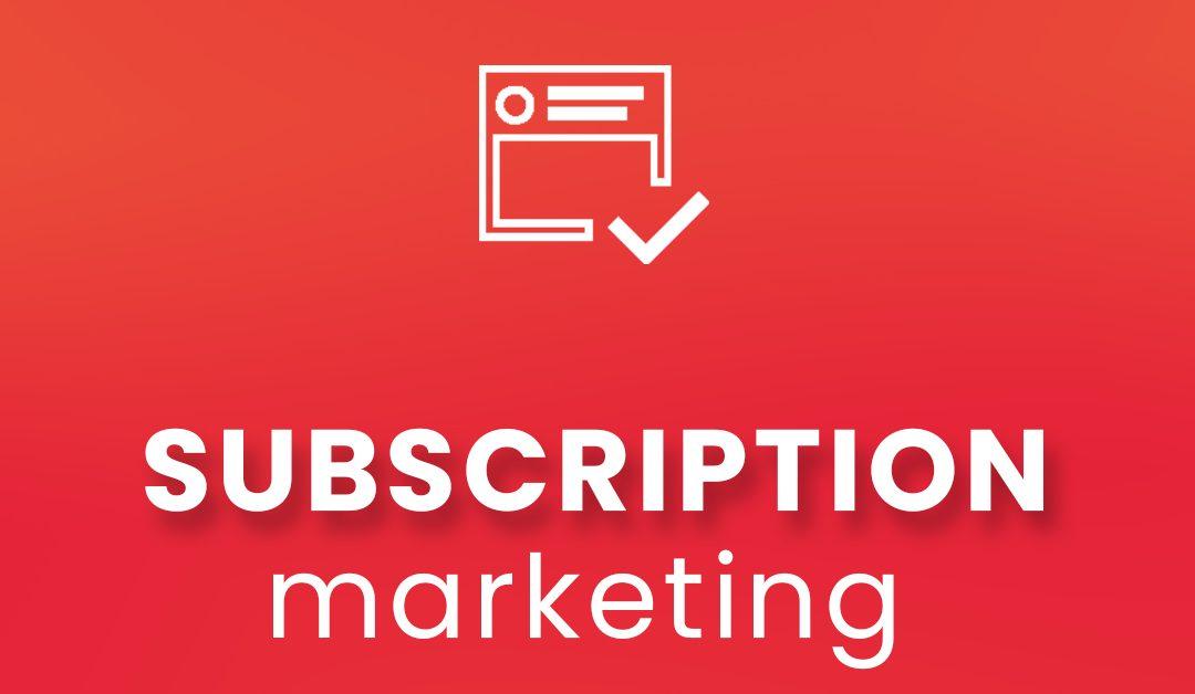 Tecnologie e modelli per i servizi digitali: i servizi in abbonamento della subscription economy