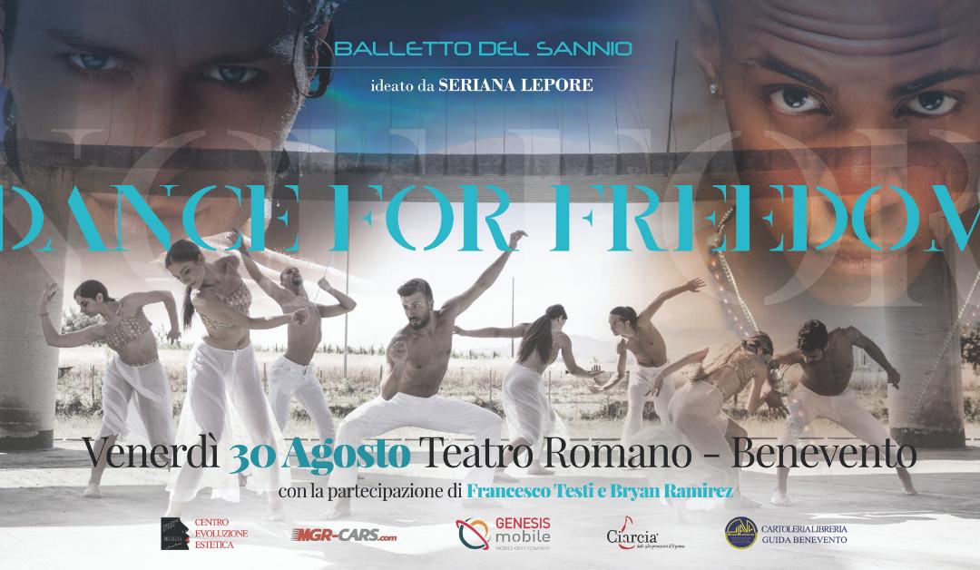 Dance for Freedom: Genesis Mobile partner del Balletto del Sannio