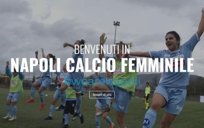 Online il nuovo sito internet del Napoli Calcio Femminile