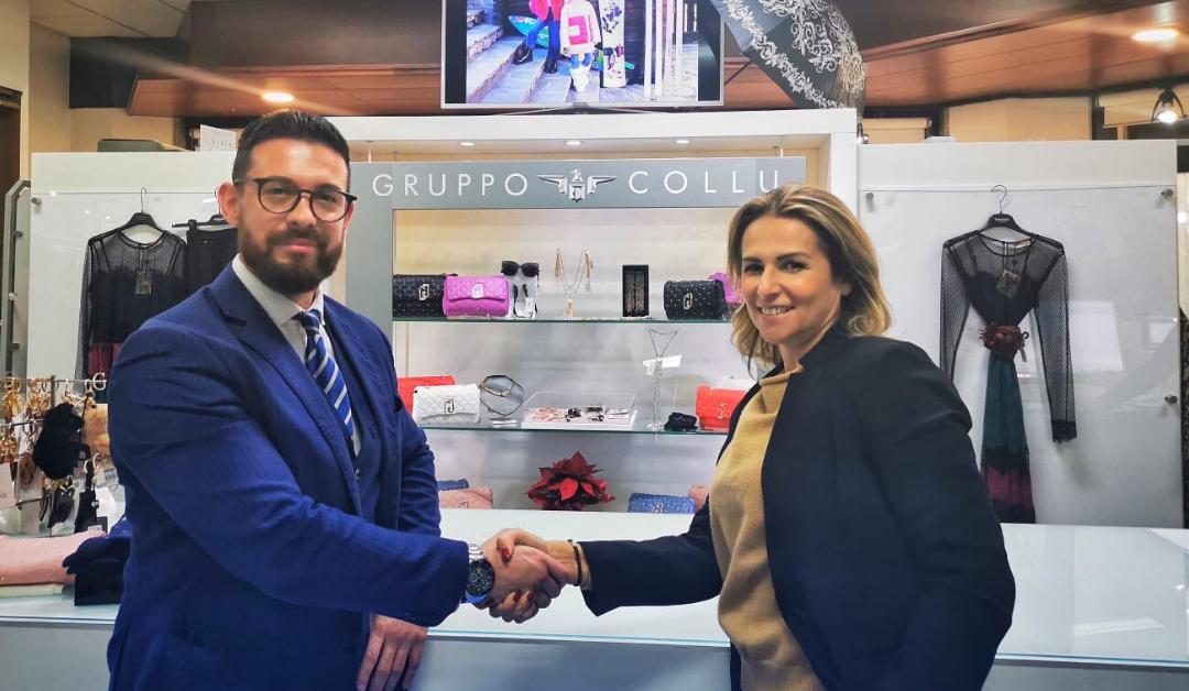 Si rinnova la partnership tra il gruppo Collu Abbigliamento e Genesis Mobile.